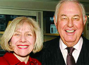 Eva Feldman and Alfred Taubman