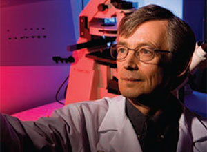 Professor of Internal Medicine Bruce Richardson, M.D., Ph.D., researches autoimmunity in lupus and aging. Continued expansion of research funding is a Medical School priority.