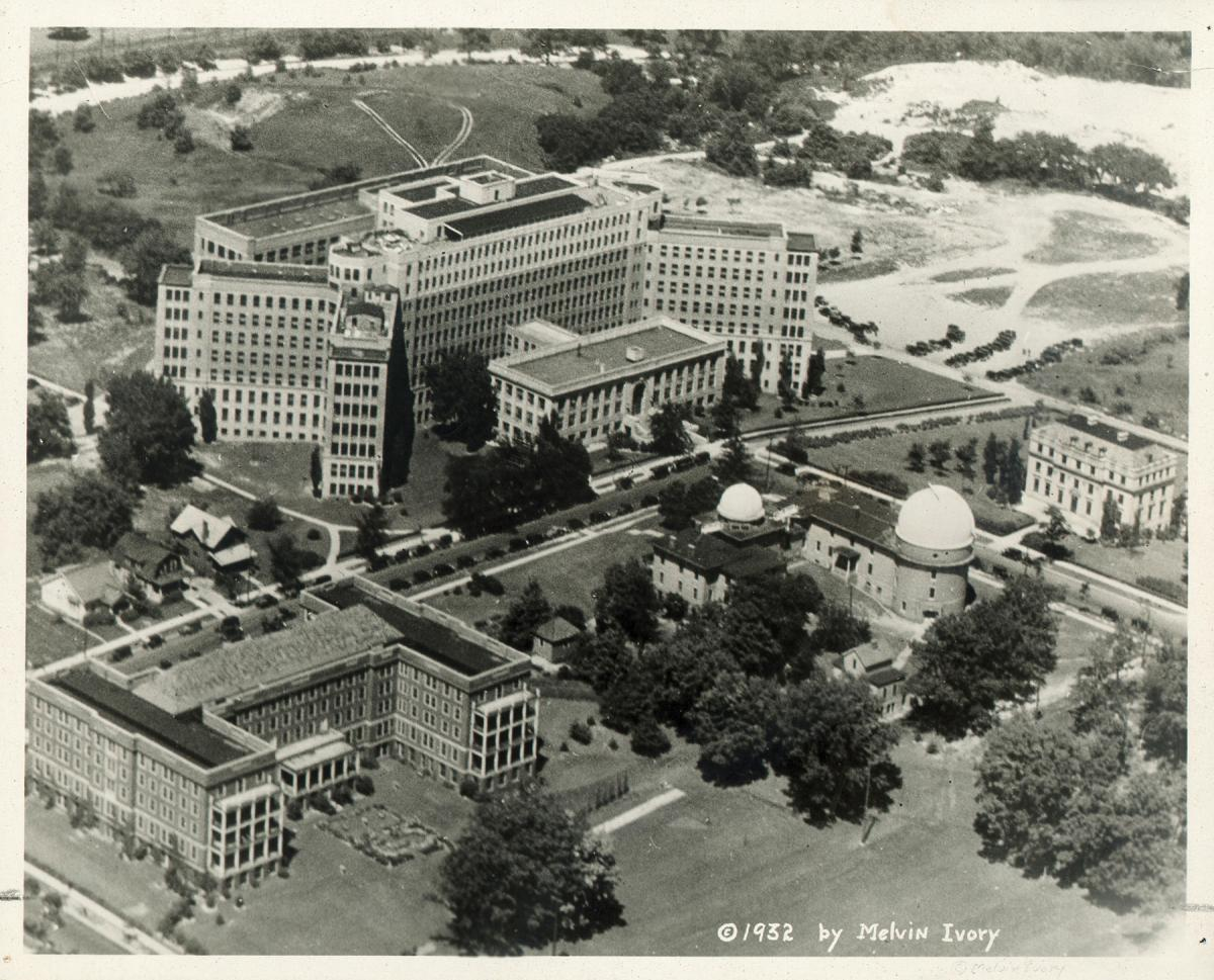 Hospital Campus in 1932