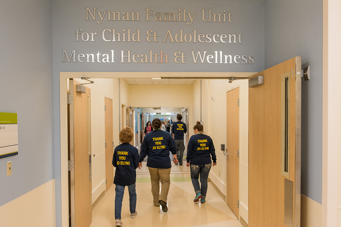 Nyman Family Unit for Child & Adolescent Mental Health and Wellness