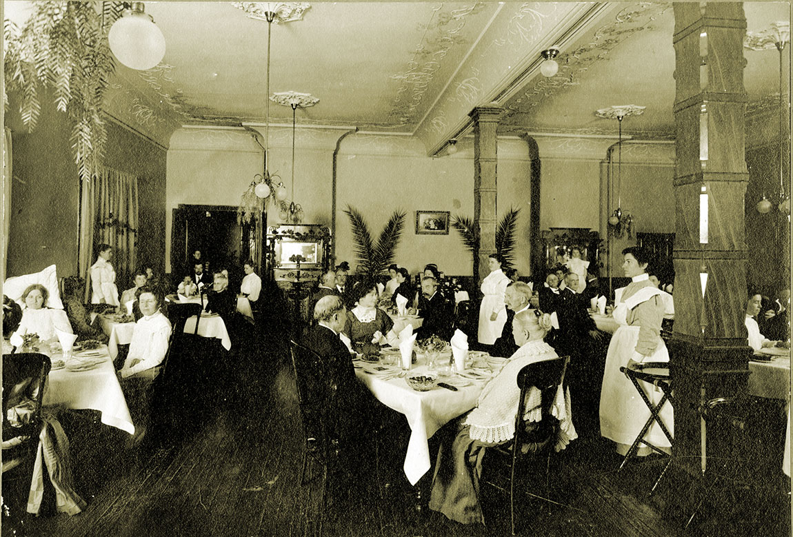 The Sanitarium dining room annex, c. 1904.