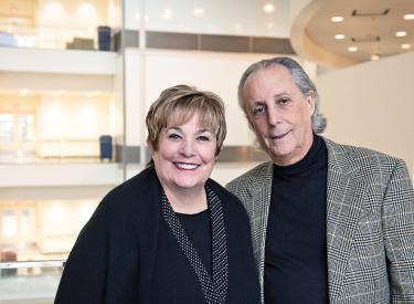 Maxine and Stuart Frankel want their gift to launch innovative collaborations that will lead to life-saving discoveries.
